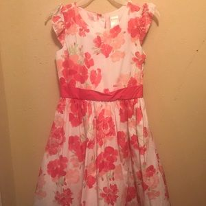 Floral Girls Dress